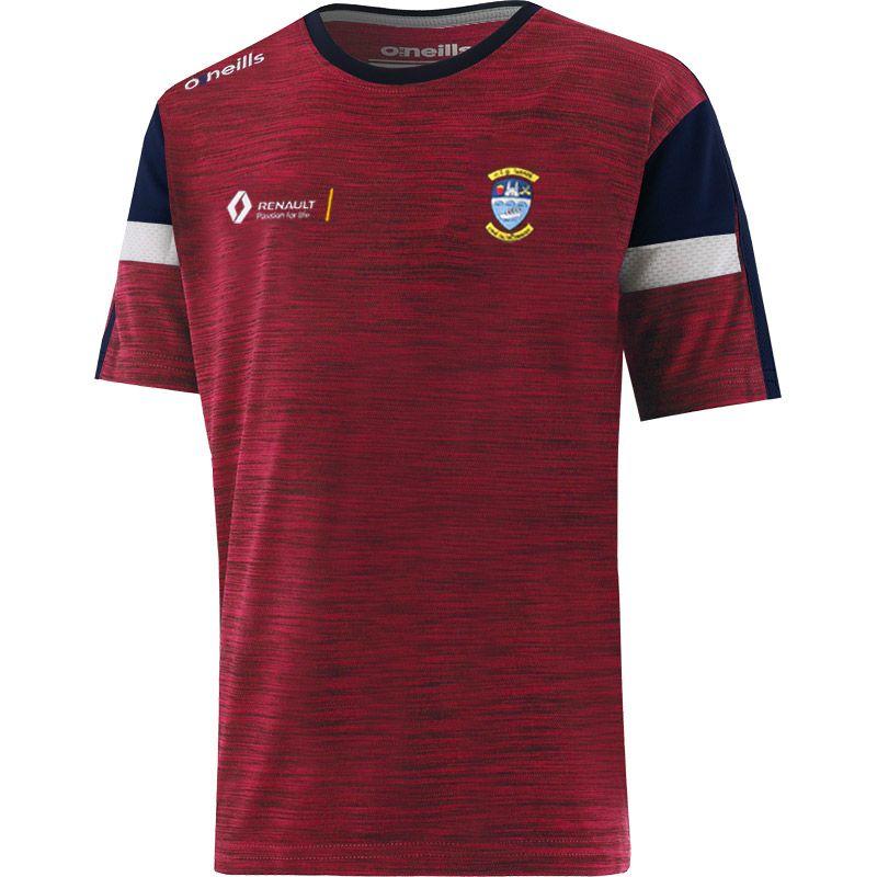 Westmeath GAA Kids' Portland T-Shirt Maroon / Marine / White