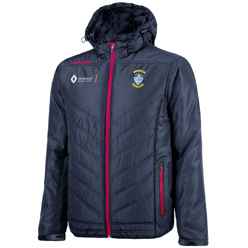 Westmeath GAA Slaney Padded Jacket (Marine/Maroon/White)