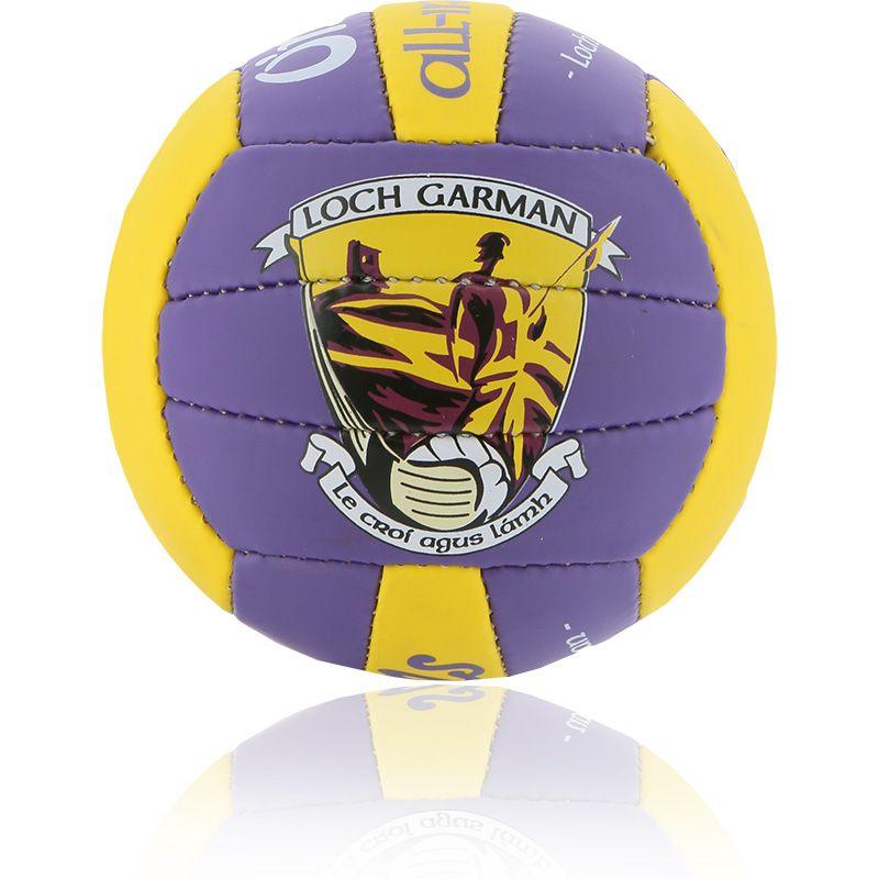 Wexford GAA All Ireland Mini Gaelic Football Purple / Amber