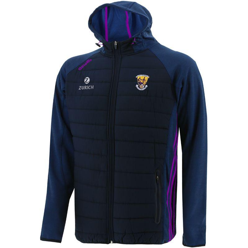 Wexford GAA Men's Portland Light Weight Padded Jacket Marine / Purple