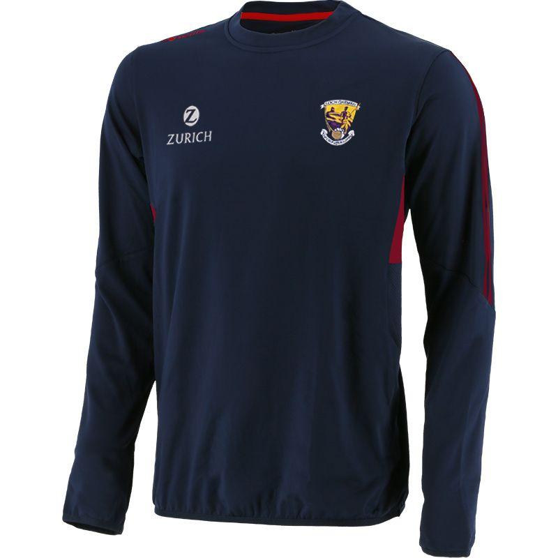 Wexford GAA Men's Raven Brushed Sweatshirt Marine / Pink / Red