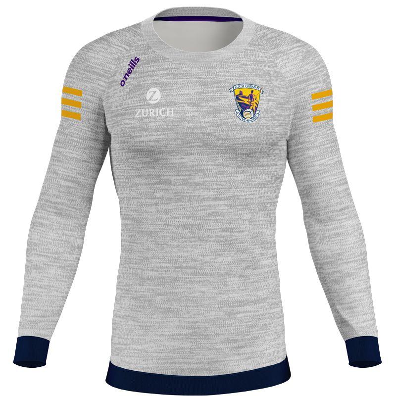 Wexford GAA Kids' Voyager Crew Neck Sweatshirt Grey / Marine / Purple