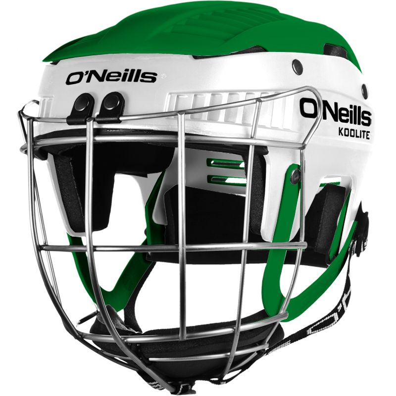 Koolite Hurling Helmet White / Green