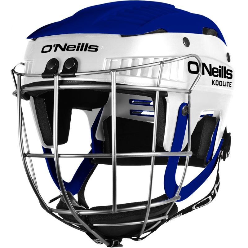 Koolite Hurling Helmet White / Royal