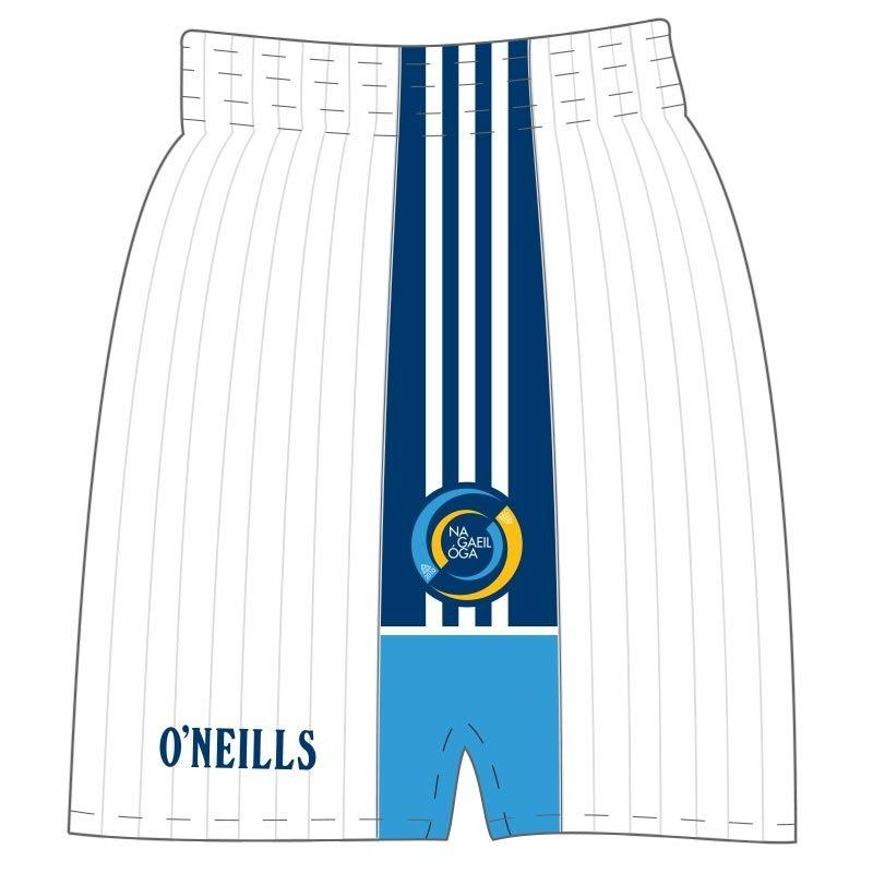 """Na Gaeil Ã""""ga CLG Shorts (Kids) (White)"""