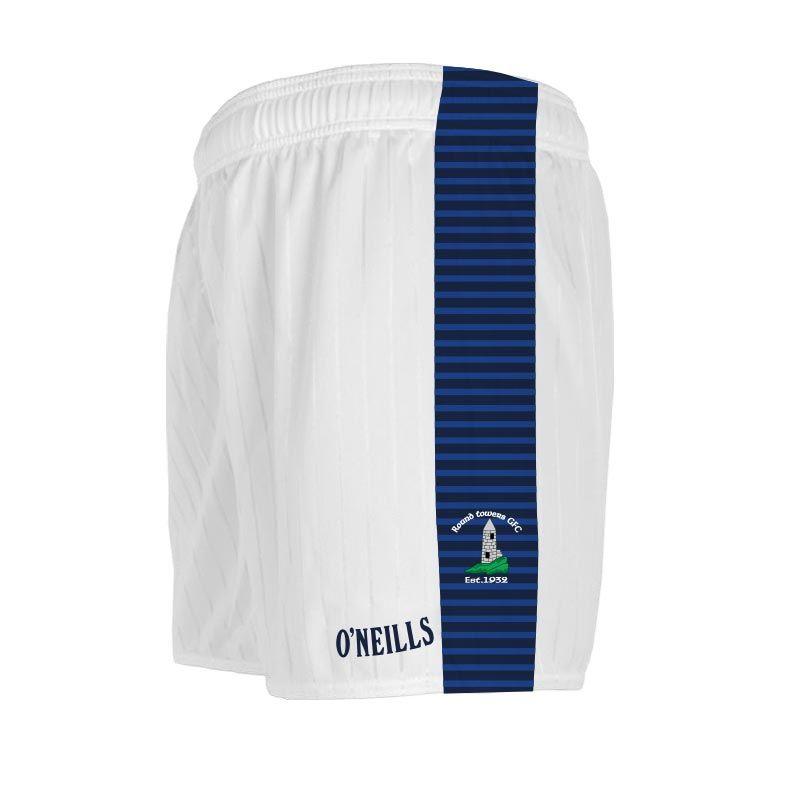 Round Towers GAA Shorts (White)