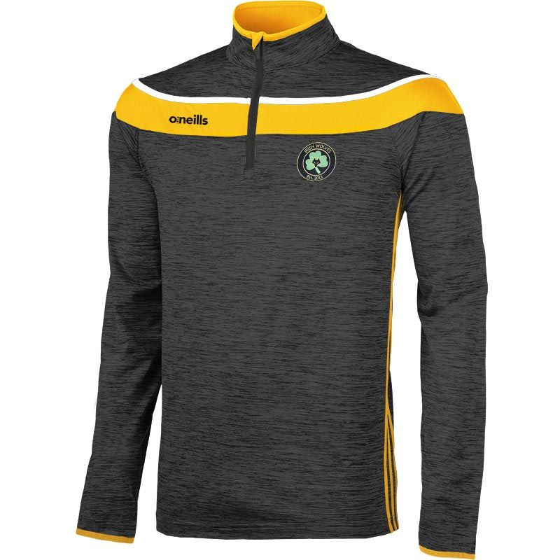 Irish Wolves Supporters Club Slaney 3s Brushed Half Zip Training Top