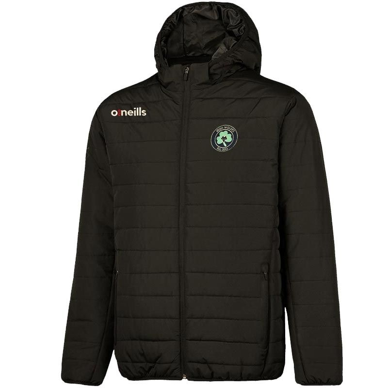 Irish Wolves Supporters Club Solar Mens Hooded Padded Jacket