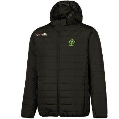10-11 Years Black New Celtic Fc   Official Kid/'s Padded Winter Jacket