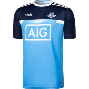 Dublin GAA 2-Stripe Training Short Sleeve Top