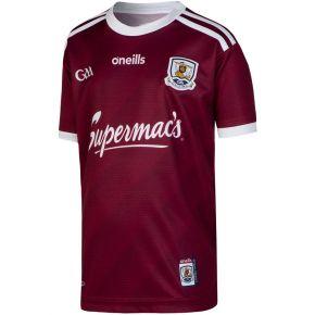 Galway GAA Home Replica 2-Stripe Jersey (Kids)