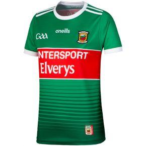 Mayo GAA Womens Fit 2-Stripe Jersey