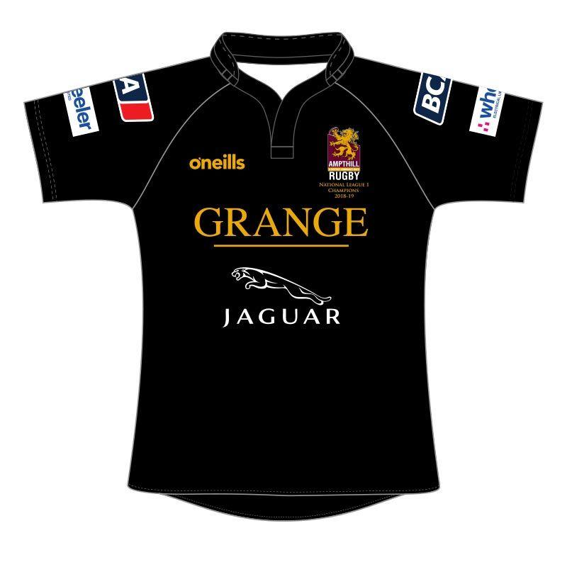 Ampthill & District RFC Away Commemorative National 1 Champions Shirt