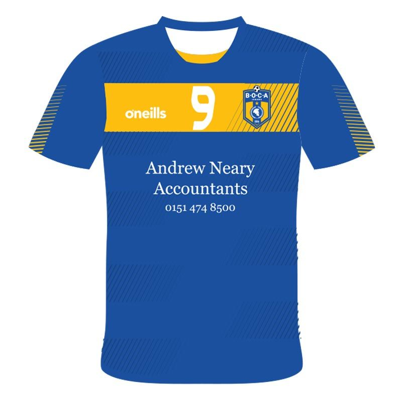 the latest eeb6a 68f68 BOCA Juniors Soccer Jersey (Andrew Neary)
