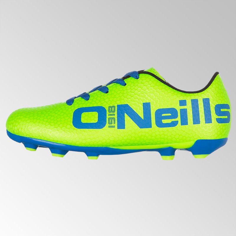 f1dfa2451cc Apollo 2 Lace Football Boot (Jnr) (Neon Lime/Royal)