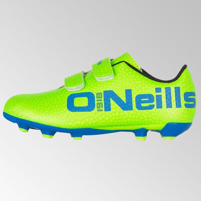 4ff2b0e1e420 Apollo 2 Velcro Football Boot (Neon Lime/Royal)   oneills.com