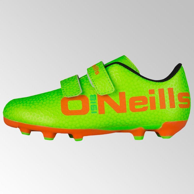 933799acc Apollo 2 Velcro Football Boot (Neon Lime/Flo Orange) (Child) | oneills.com