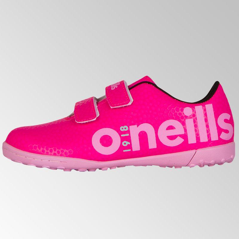 0f677388e Apollo 2 Astro Velcro Football Trainer (Child) (Flo Pink Light Pink Mint)