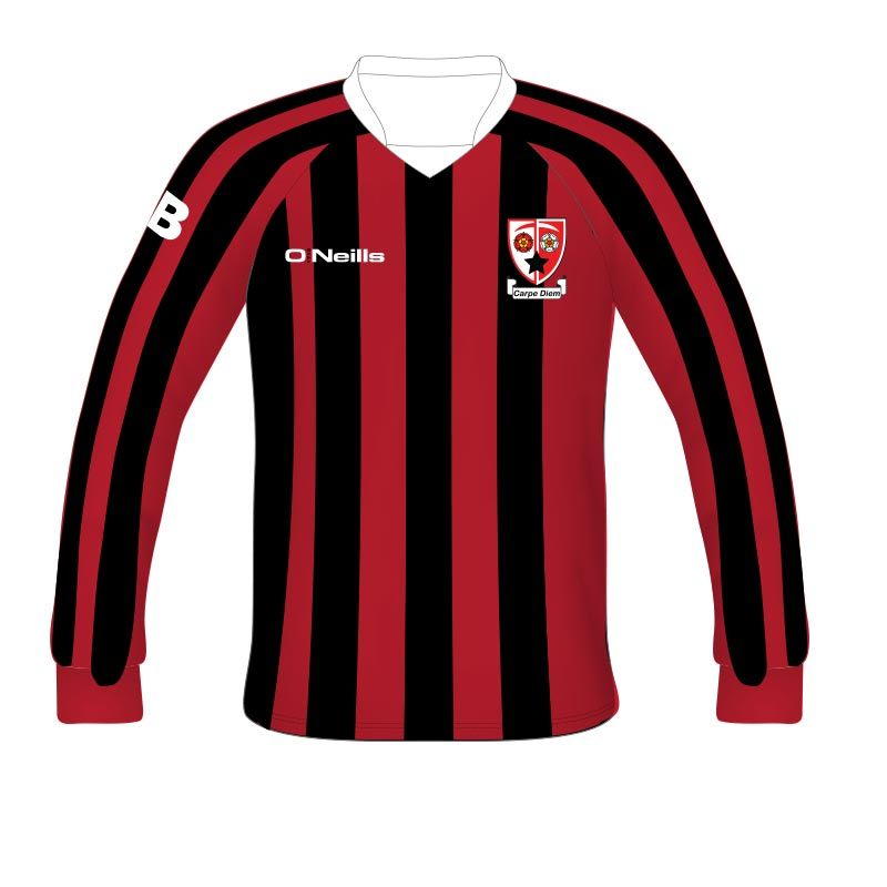 best service b120e 78b9c Audenshaw School Long Sleeve Soccer Jersey