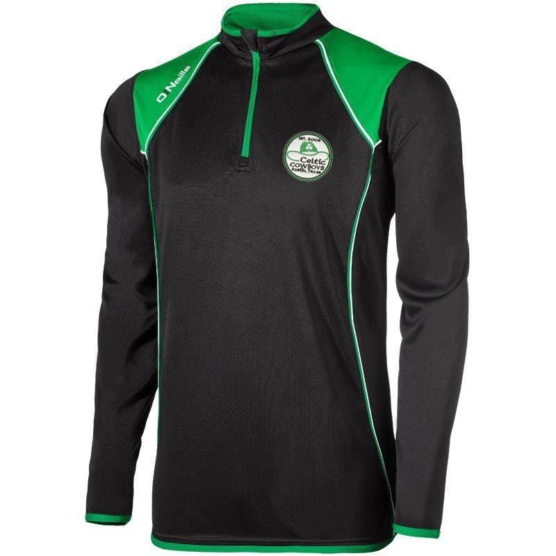 best service 958cb 755b0 Celtic Cowboys GAA Bailey Squad Half Zip Training Top (Kids)