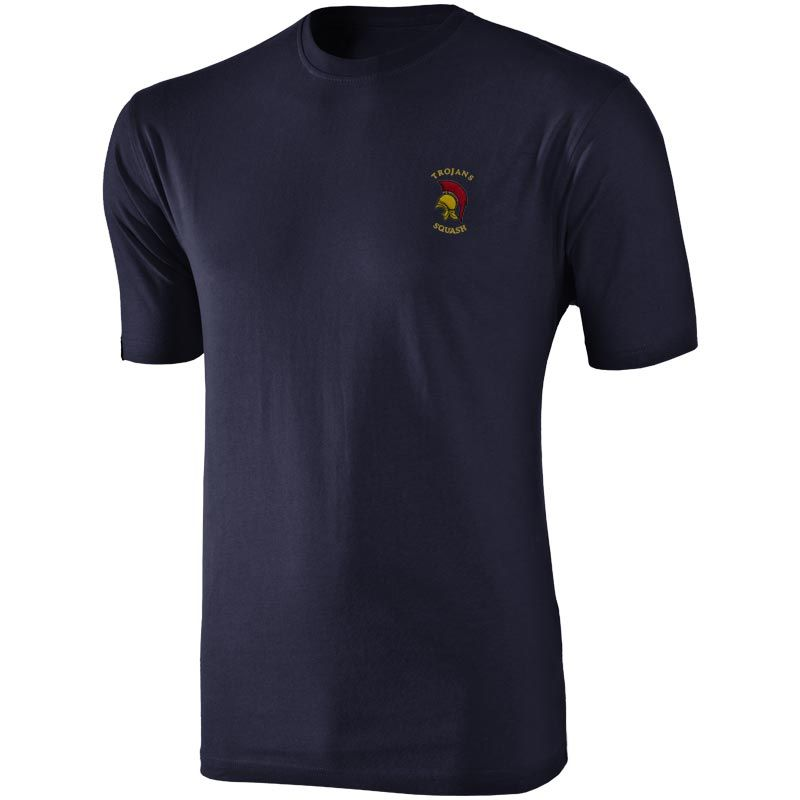 innovative design 038d4 c74a9 Trojans Squash Club Basic T-Shirt