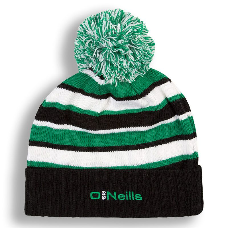 8d871ea09f8 Beacon Bobble Hat (Black Emerald White)