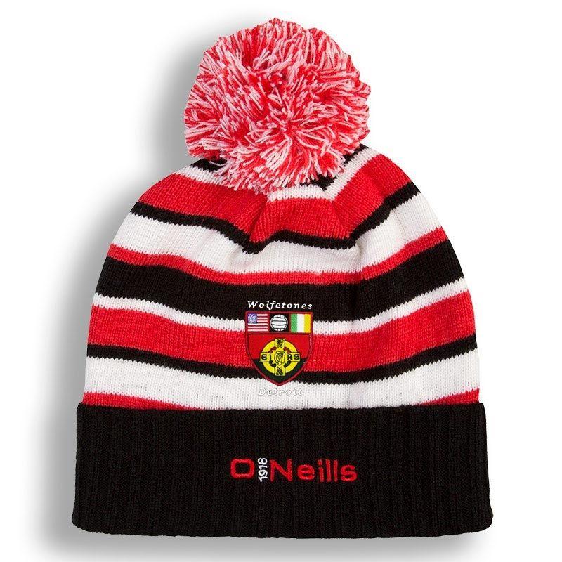 7ac0d8c3924 Detroit Wolfetones Beacon Bobble Hat