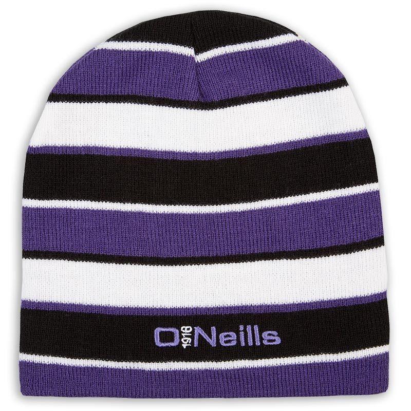 Beacon Beanie Hat (Black Purple White)  af957160e4c