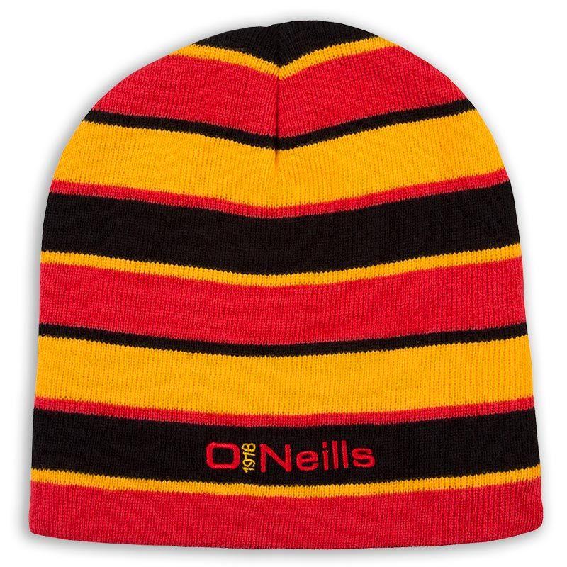 6ceffbc6e Beacon Beanie Hat (Black/Red/Amber)