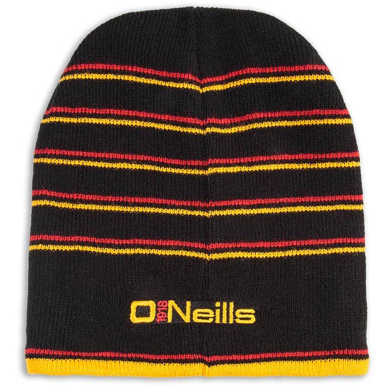 Striped Beanie Hat (Black Red Gold) (Kids)  e8424048d6d
