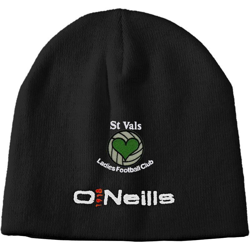 d0b90cb108f5c St Vals Ladies Football Beanie Hat