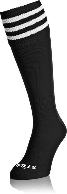 Premium Socks Bars (Black/White) (Kids)