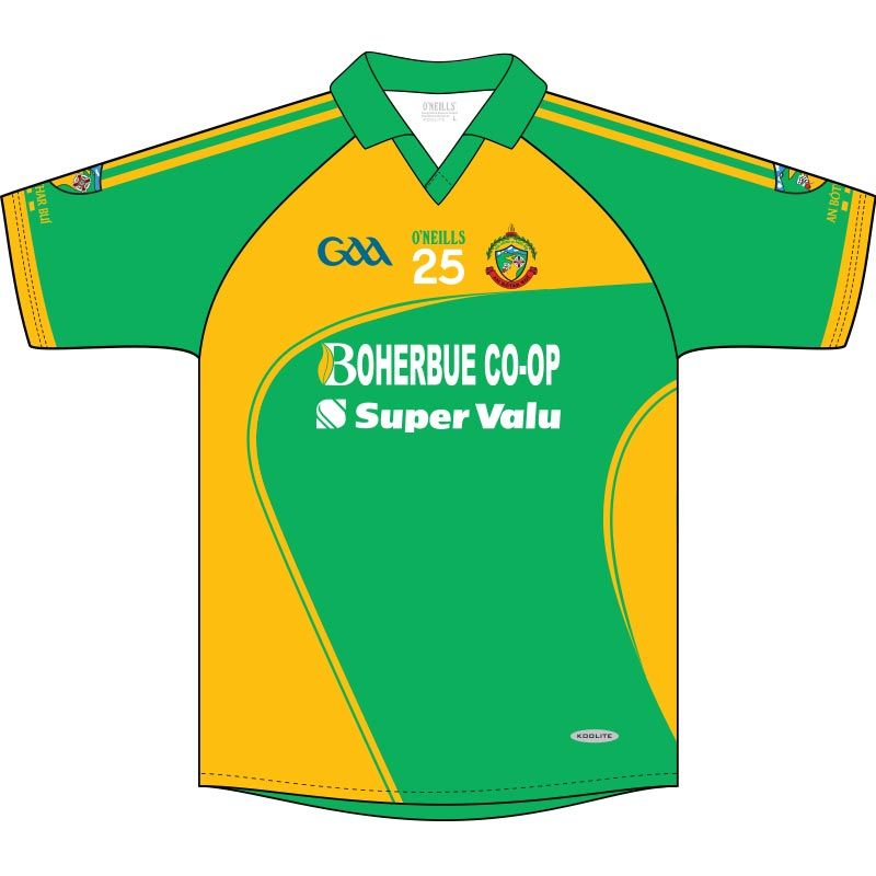 newest b5aeb bf64f Boherbue GAA Jersey (Green)   oneills.com