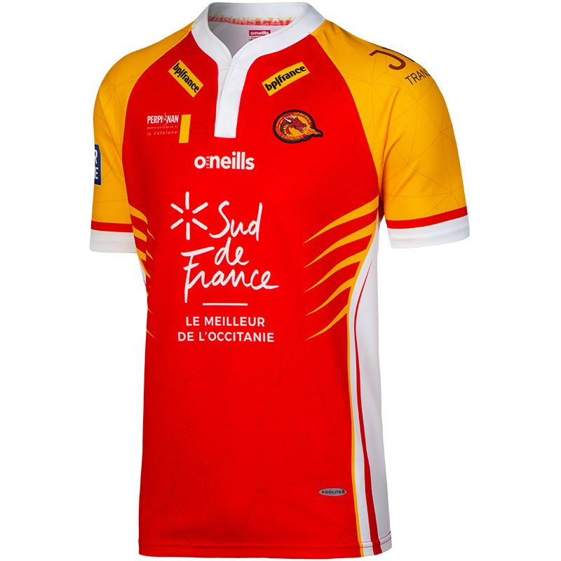 fba167231 Catalans Dragons Rugby Jersey (Kids) (Away)