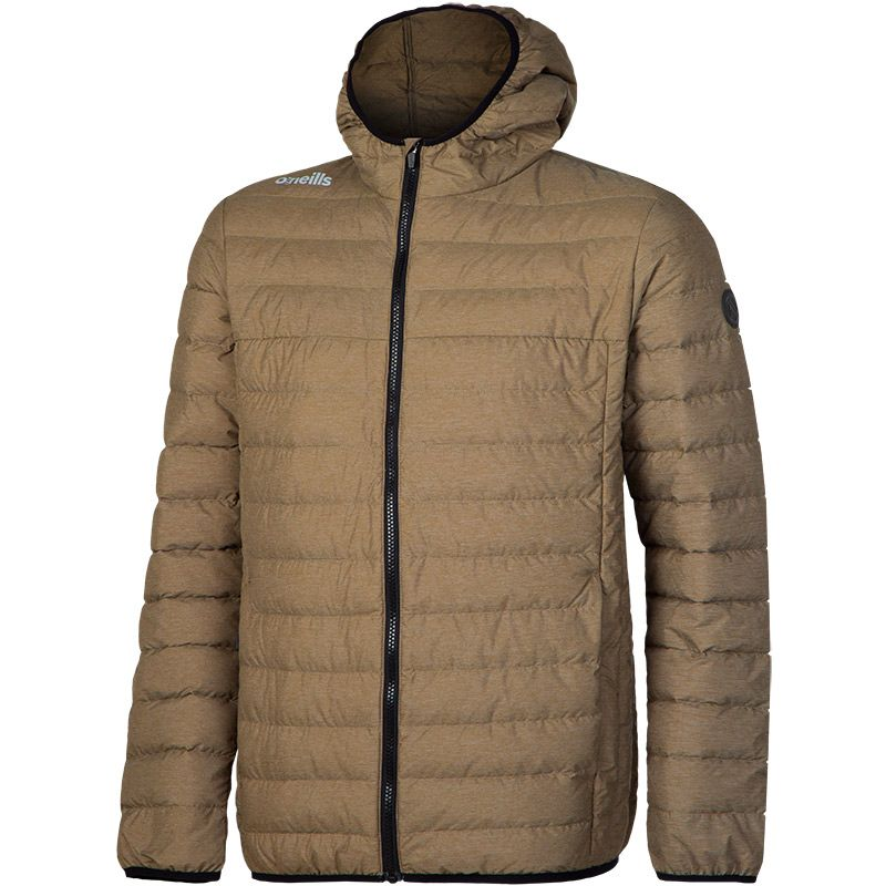 69aec66c45e Chester Down Filled Hooded Jacket (Marl Khaki)