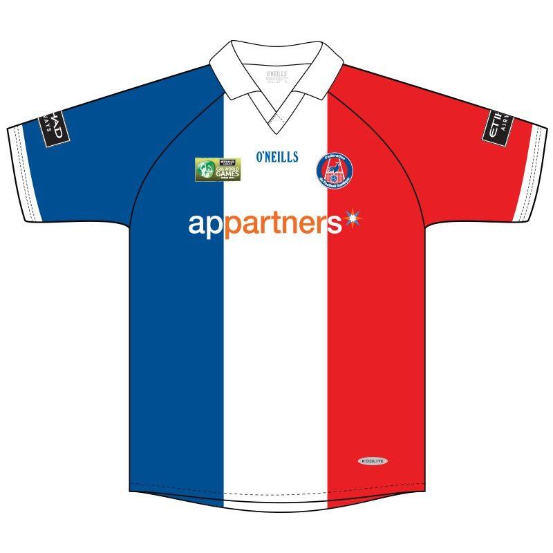 France GAA Mens   Womens Football Outfield WG Jersey  d4008eee4552