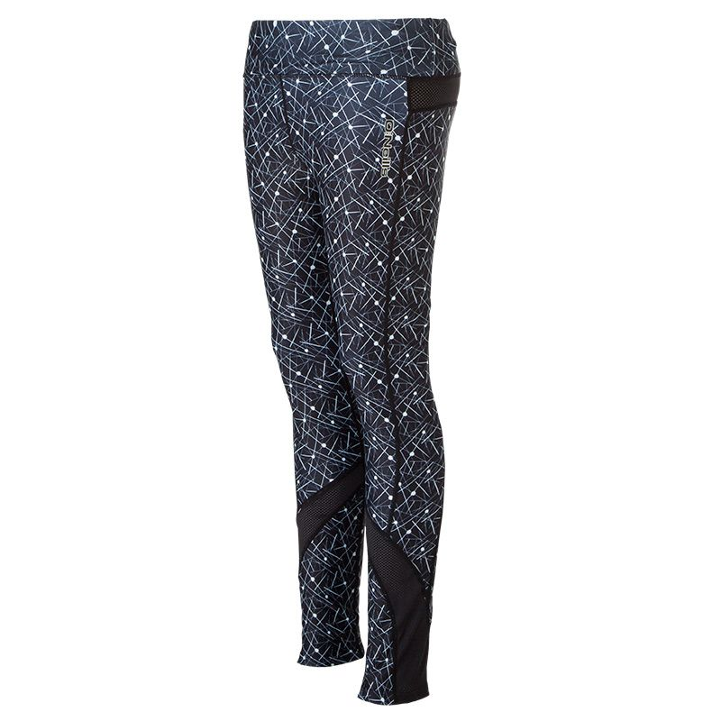 be554a97f4e13 Dakota Pure Full Length Gym Legging (Spike Print/Black/Mesh/Reflective  Silver) | oneills.com