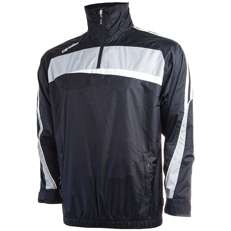 8378f8df Dargle Half-Zip Rain Jacket (Navy/Silver/White)