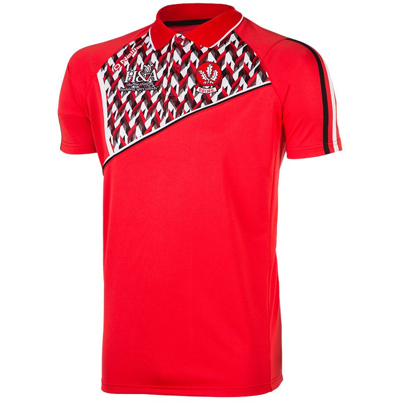 Derry GAA Coprall 2S Polo Shirt