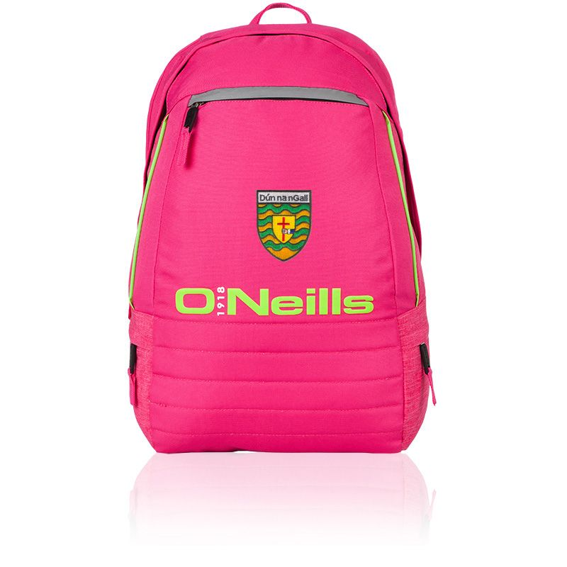 18289c8f14 Donegal GAA Falcon Back Pack (Pink Lime)