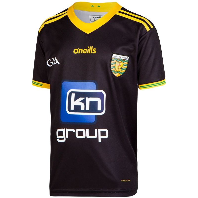 new concept 05195 a6fb2 Donegal GAA Goalkeeper Replica 2-Stripe Jersey (Kids)