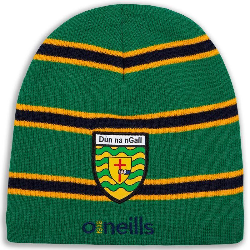0e0c0219aa8 Donegal GAA Solar Beanie Hat (Emerald Amber Marine) (Adults ...