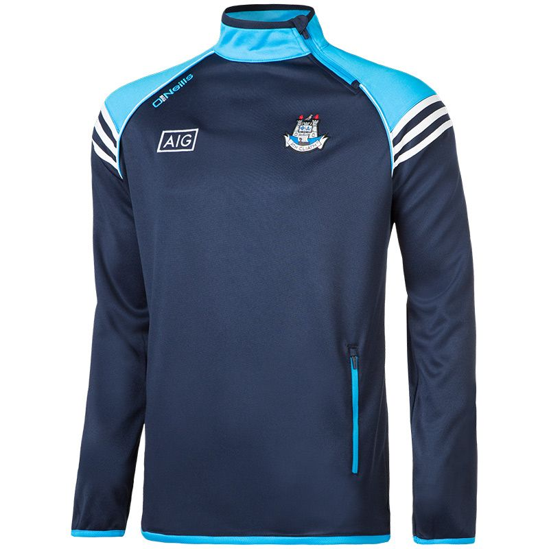 Dublin GAA Abbey 3S Side-Zip Squad Top (Marine/Swedish Blue ...