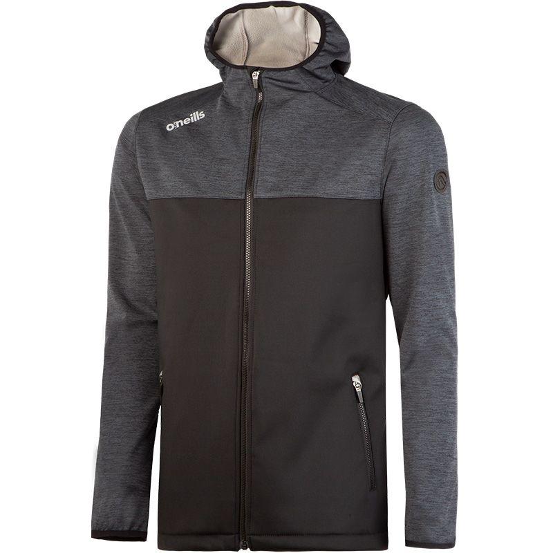 0e9ca7b81 Franklin Full Zip Soft Shell Jacket (Melange Black/Black/Grey/Reflective  Silver) | oneills.com