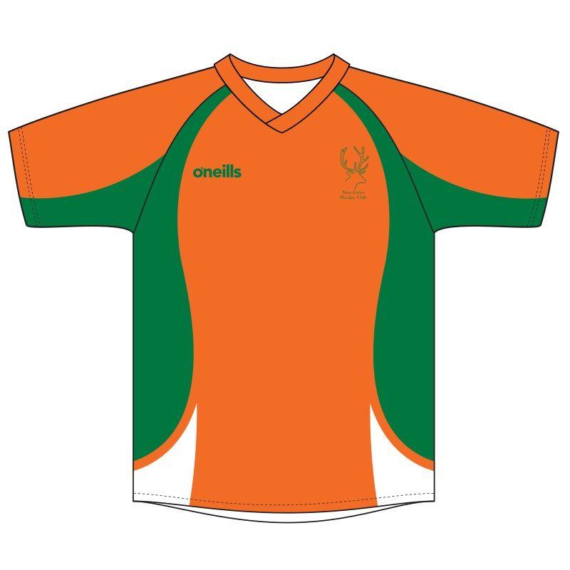 d42cf16a New Forest Hockey Goalkeeper Jersey (Short Sleeve) (Kids) | oneills.com -  International