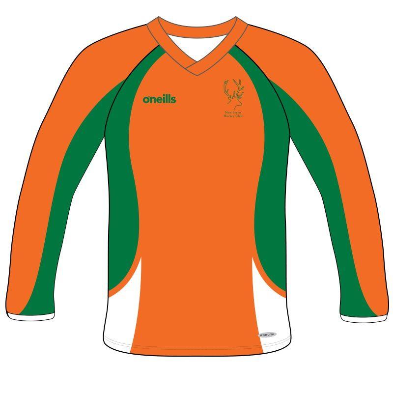 83fc8840 New Forest Hockey Goalkeeper Jersey (Long Sleeve) (Kids) | oneills.com - US