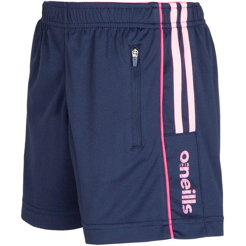 a7e769fd Kids' Granada Training Shorts Marine / Pink   oneills.com