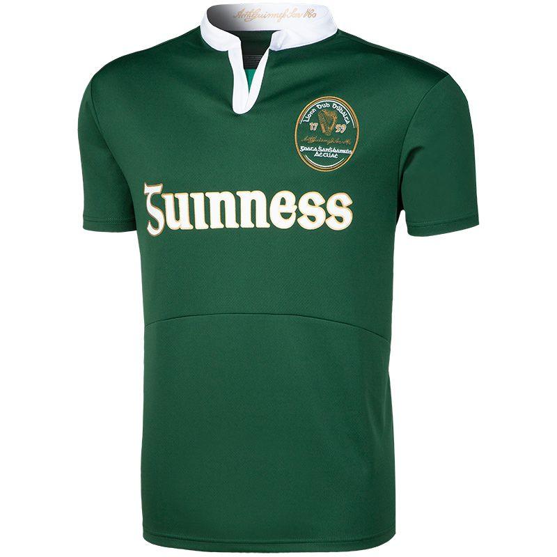 b4f0bd662ec Guinness Performance Short Sleeve Rugby Jersey (Bottle) | oneills.com - AUS