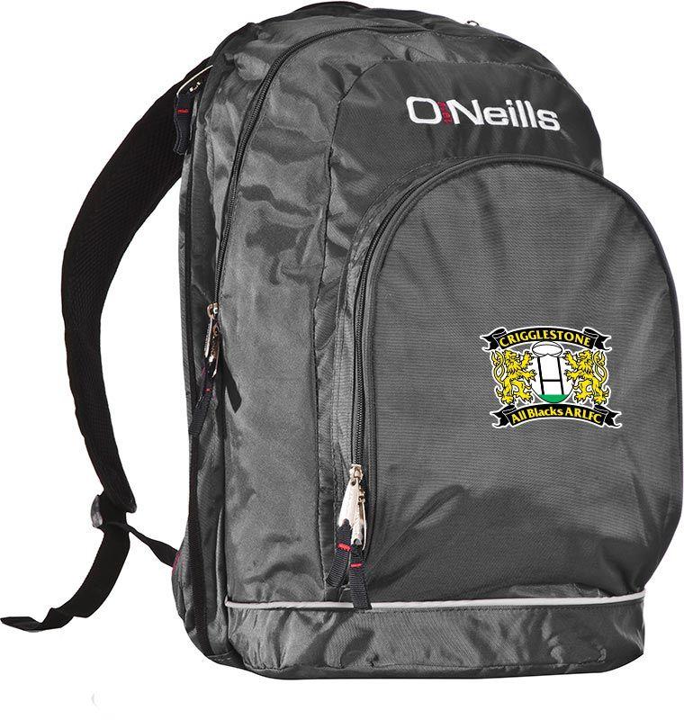 Crigglestone All Blacks ARLFC Harvard Backpack (Kids)  d1408faddf6e3