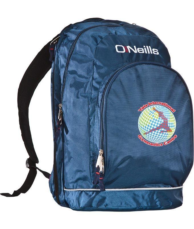 cc6cbe941889 Yate International Gymnastics Centre Harvard Back Pack | oneills.com